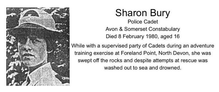 Cadet Sharon Bury